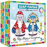 "Набор Шар Папье ""Дед Мороз и Снегурочка"""
