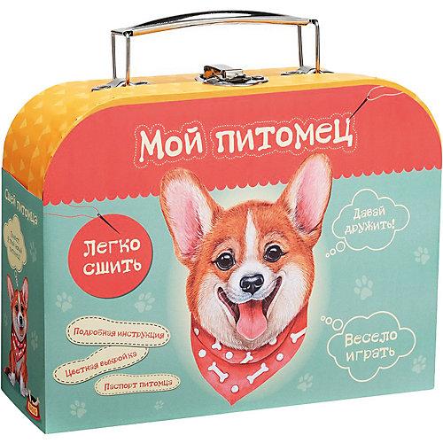 """Набор для творчества Мой уютный домик """"Сшей игрушку """"Щенок Корги"""" от Бумбарам"""