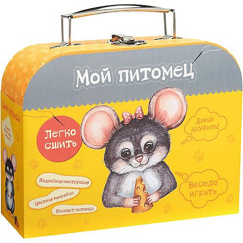 """Набор для творчества Мой уютный домик """"Сшей игрушку """"Мышонок"""" от Бумбарам"""