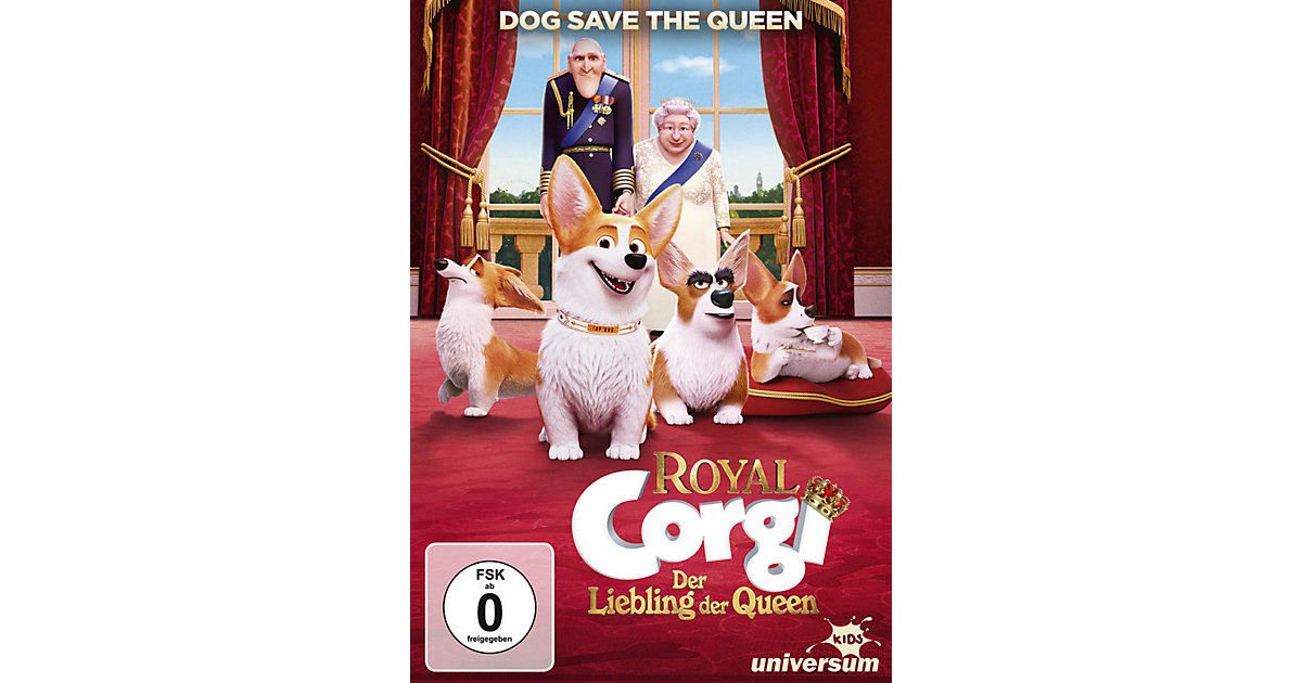 DVD Royal Corgi - Der Liebling der Queen Hörbuch