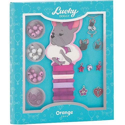 Набор для создания украшений Orange Lucky Doggy Бульдог от Orange
