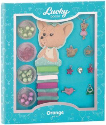 Набор для создания украшений Orange Lucky Doggy Йорк