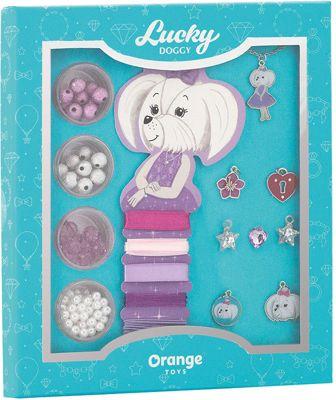 Набор для создания украшений Orange Lucky Doggy Мальтезе