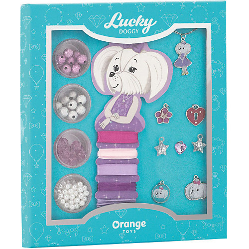 Набор для создания украшений Orange Lucky Doggy Мальтезе от Orange