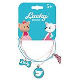 Верёвочный браслет Orange Lucky Doggy, с Чихуахуа