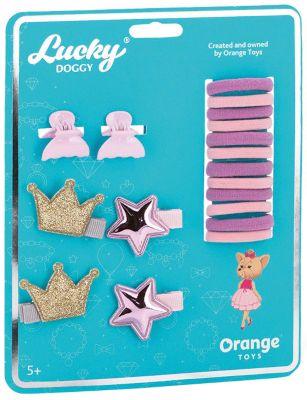 Набор аксессуаров для волос Orange Lucky Doggy Йорк
