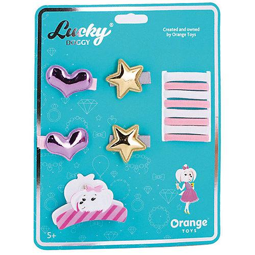 Набор аксессуаров для волос Orange Lucky Doggy Мальтезе от Orange
