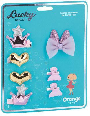 Набор аксессуаров для волос Orange Lucky Doggy Пудель