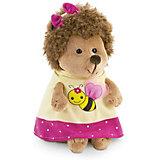 Мягкая игрушка Orange Life Ежинка Колючка: Пчёлка, 15 см