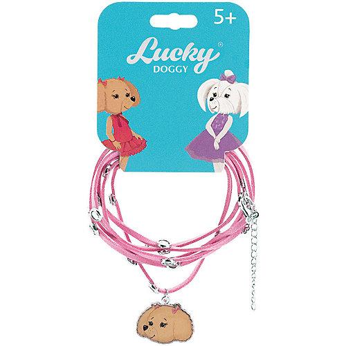 Кожаный браслет Orange Lucky Doggy, с Пуделем от Orange