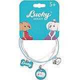Верёвочный браслет Orange Lucky Doggy, с Мальтезе