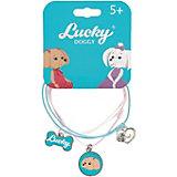 Верёвочный браслет Orange Lucky Doggy, с Пуделем