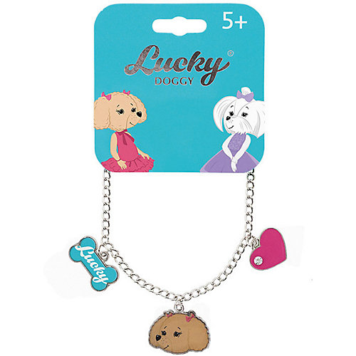 Браслет-цепочка Orange Lucky Doggy, с Пуделем от Orange