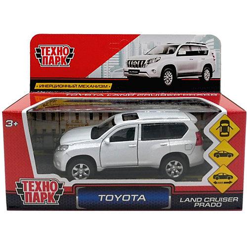 Коллекционная машинка Технопарк Toyota Prado, 12 см от ТЕХНОПАРК