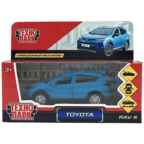 Коллекционная машинка Технопарк Toyota Rav 4, 12 см, синяя от ТЕХНОПАРК