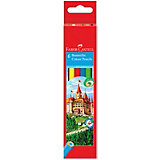 Карандаши цветные Faber-Castell, 6 цветов