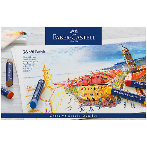 Пастель масляная Faber-Castell Oil Pastels, 36 цветов от Faber-Castell