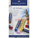 Пастель масляная Faber-Castell Oil Pastels, 12 цветов