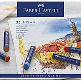 Пастель масляная Faber-Castell Oil Pastels, 24 цвета