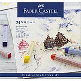 Пастель Faber-Castell Soft pastels, 24 цвета