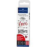 Набор капиллярных ручек Faber-Castell Pitt Artist Pen Lettering, 4 шт