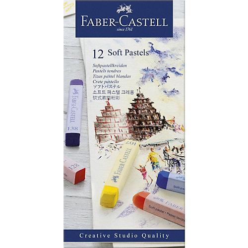Пастель Faber-Castell Soft pastels, 12 цветов от Faber-Castell