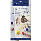 Пастель Faber-Castell Soft pastels, 12 цветов