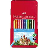 Карандаши цветные Faber-Castell, 12 цветов