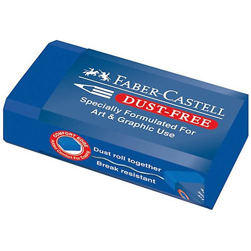 Ластик Faber-Castell Dust-Free, синий от Faber-Castell
