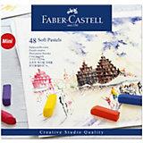 Пастель Faber-Castell Soft pastels, 48 цветов, мини