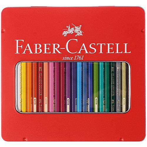 Карандаши цветные Faber-Castell, 24 цвета от Faber-Castell