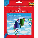 Карандаши цветные Faber-Castell 48 цветов, с точилкой