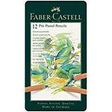 Пастельные карандаши Faber-Castell Pitt Pastel, 12 цветов