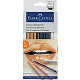 Набор художественных изделий Faber-Castell Classic Sketch, 6 предметов