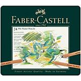 Пастельные карандаши Faber-Castell Pitt Pastel, 24 цветов