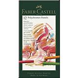 Пастель художественная Faber-Castell Polychromos, 12 цветов
