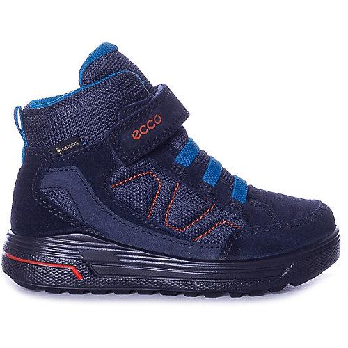 Утепленные ботинки ECCO - коричневый от ecco