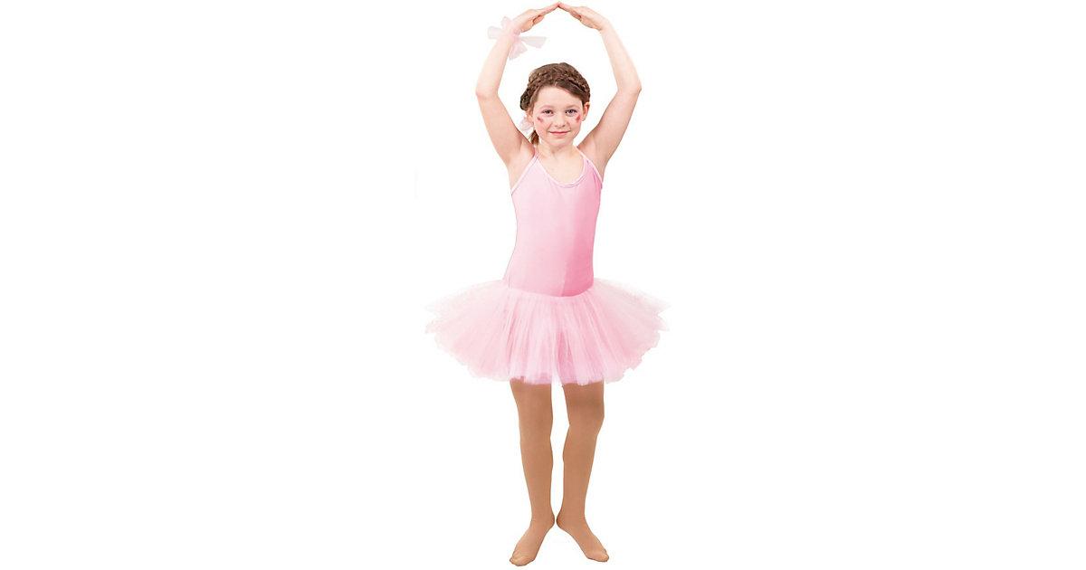 Body mit Tutu rosa Gr. 104/110 Mädchen Kleinkinder
