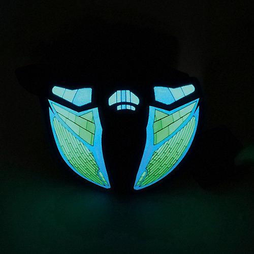 Полумаска Патибум, Техно, c подсветкой от Патибум