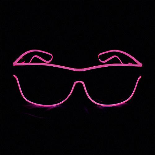 Очки Патибум Hot pink, с подсветкой от Патибум