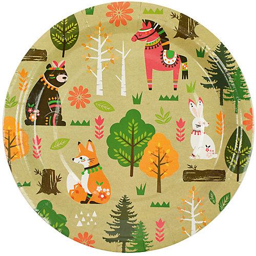 Комплект тарелок Патибум, Лесные жители от Патибум