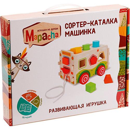 """Сортер-каталка Mapacha """"Машинка"""" от Mapacha"""