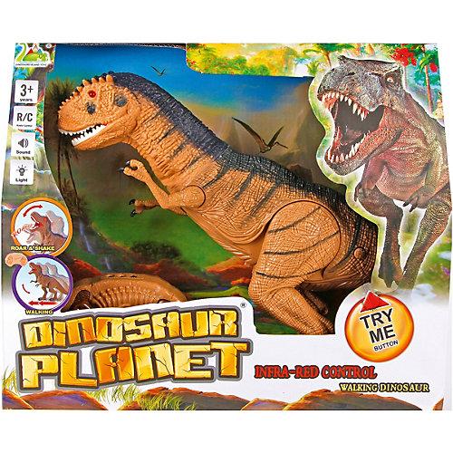 Радиоуправляемый динозавр Наша Игрушка, со светом и звуком от Наша Игрушка