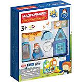 Магнитный конструктор MAGFORMERS Max's Playground Set, 33 элемента
