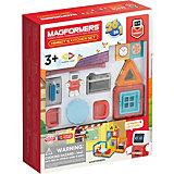 Магнитный конструктор MAGFORMERS Minibot's Kitchen Set, 33 элемента