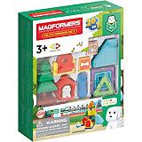 Магнитный конструктор MAGFORMERS Milo's Mansion Set, 33 элемента
