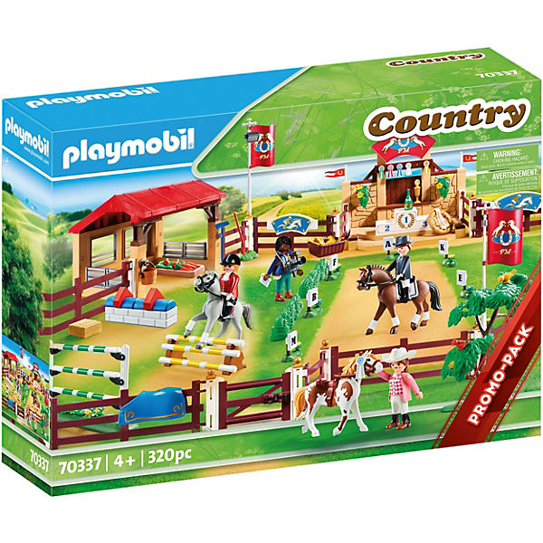 PLAYMOBIL® Country 70337 Mega-Set Reit-Turnierplatz