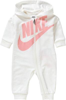 Nike Baby Geschenk Set 3-er Strampler kurzarm Body Socken Mütze Mädchen Gr 0-3M