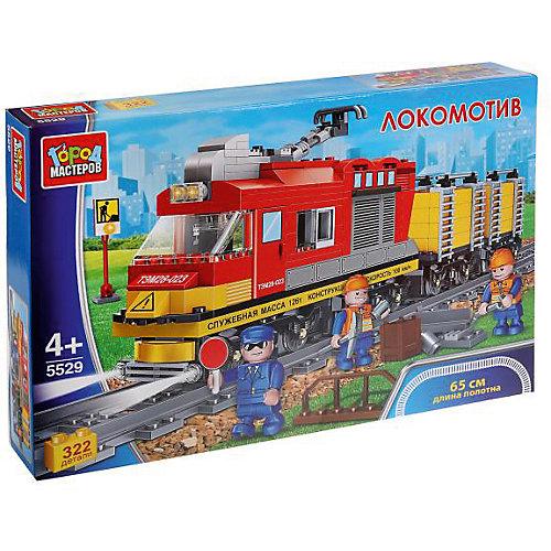 Конструктор Город Мастеров «Локомотив», 322 детали от ТЕХНОПАРК