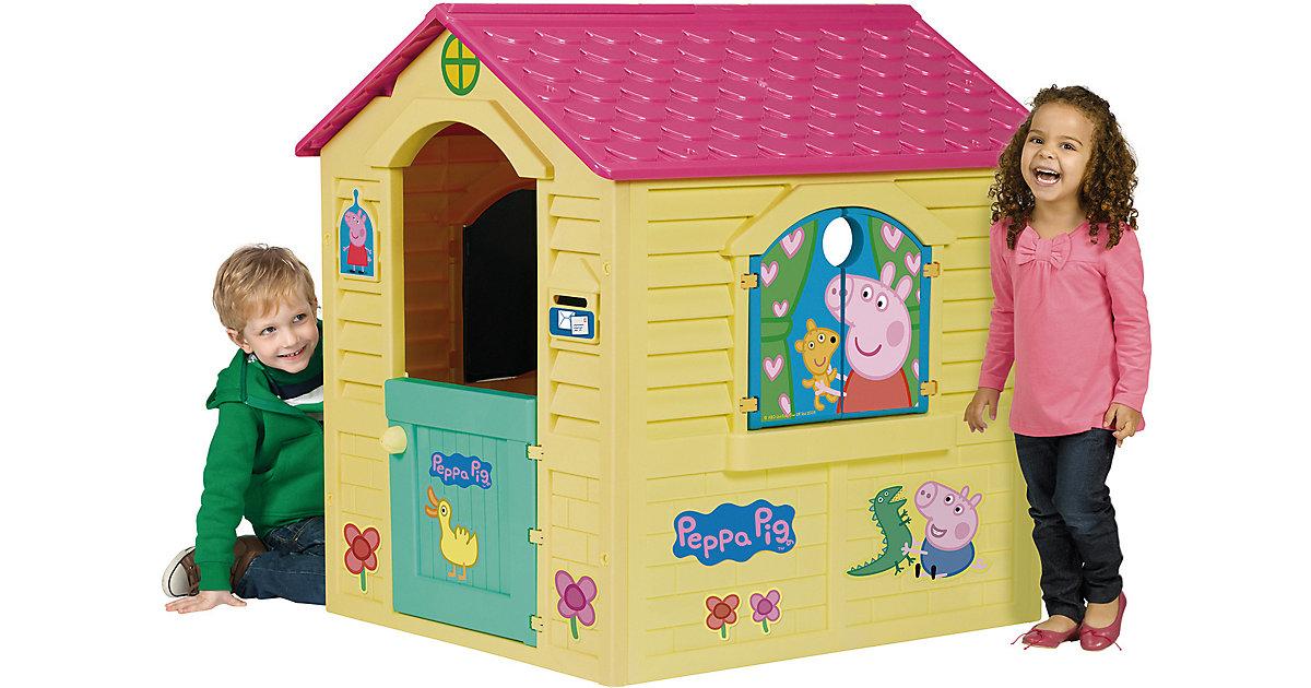 Peppa Pig House pink/gelb